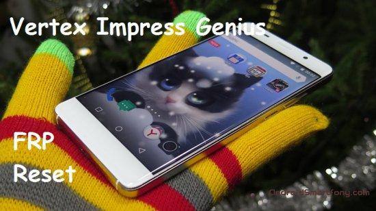 Как на Vertex Impress Genius сбросить Google аккаунт (обход Google FRP)