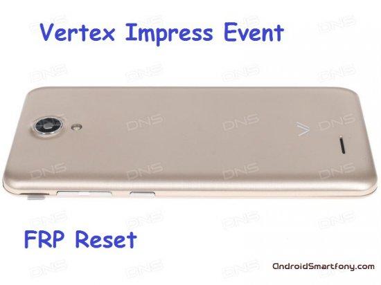 Как на Vertex Impress Event сбросить Google аккаунт (обход Google FRP)
