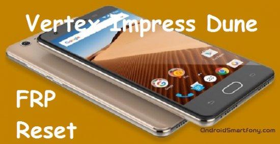 Как на Vertex Impress Dune сбросить Google аккаунт (обход Google FRP)
