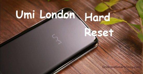 Hard reset Umi London - сброс настроек, пароля, ключа