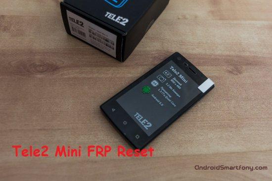 Как на Tele2 Mini сбросить Google аккаунт (обход Google FRP)