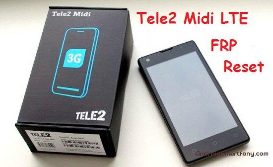 Как на Tele2 Midi LTE сбросить Google аккаунт (обход Google FRP)