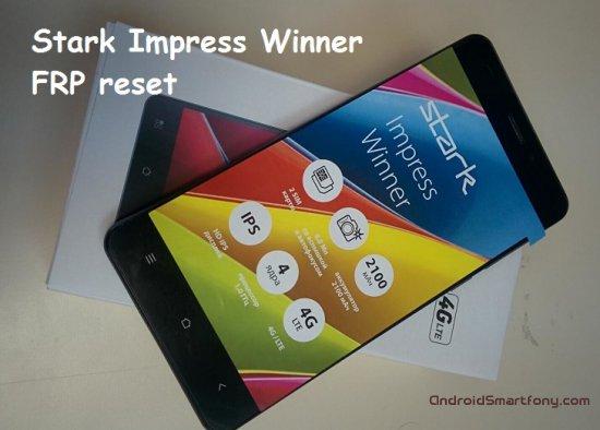 Как на Stark Impress Winner сбросить Google аккаунт (обход Google FRP)
