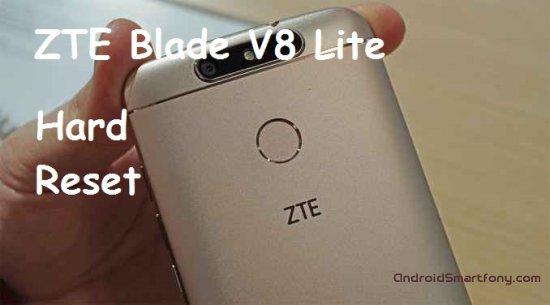 Hard reset ZTE Blade V8 Lite - сброс настроек, пароля, ключа