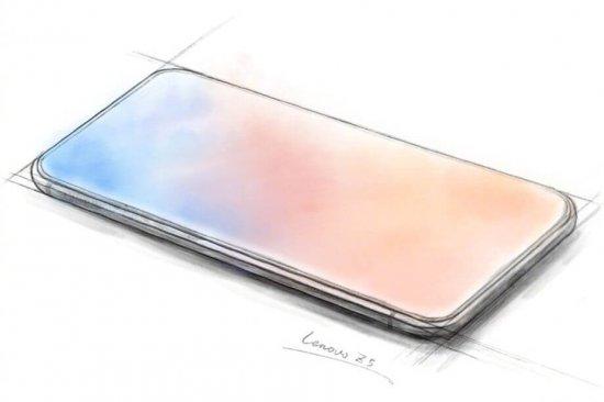 Lenovo показала по-настоящему безрамочный смартфон Z5