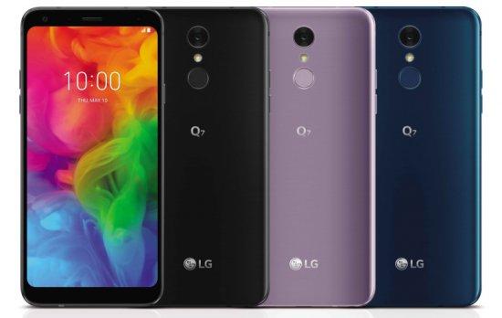 Анонсированы смартфоны LG Q7