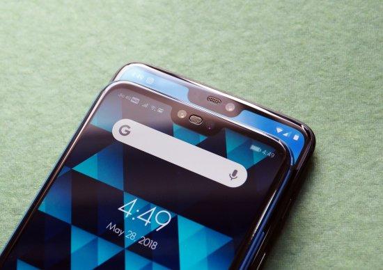 сравнение OnePlus 6 vs Huawei Honor 10