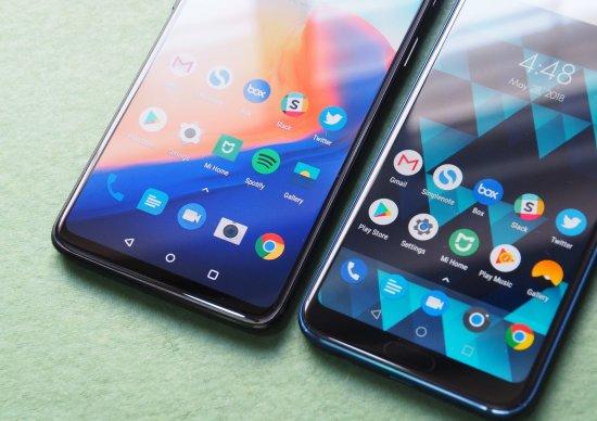 Сравнительный анализ смартфонов OnePlus 6 и Honor 10