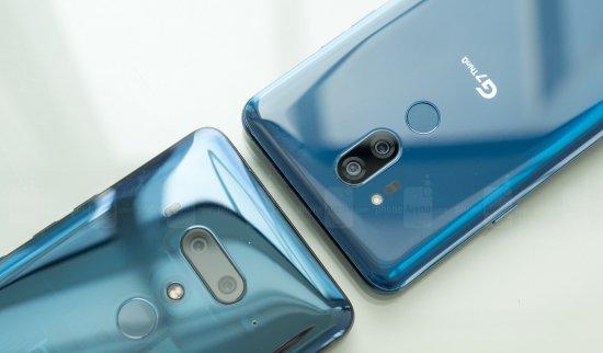 HTC U12 Plus против LG G7: сравнительный анализ