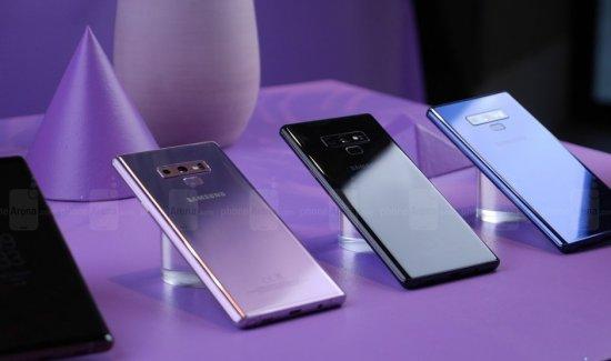 Первое знакомство со смартфоном Samsung Galaxy Note 9