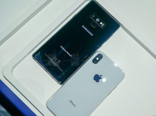 Сравнительный обзор смартфонов Galaxy Note 9 и iPhone X
