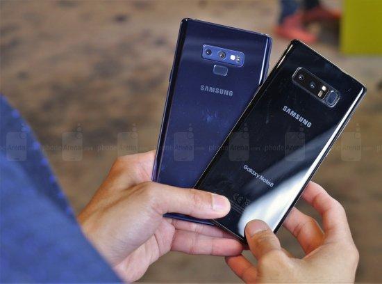 Сравнительный анализ смартфонов Samsung Galaxy Note 8 и Galaxy Note 9