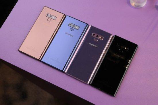 Новые возможности смартфона Samsung Galaxy Note 9
