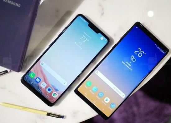Сравнительный обзор смартфонов Samsung Galaxy Note 9 и LG G7 ThinQ