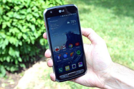 защищенные смартфоны 2018 года - LG X Venture