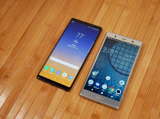 Сравнительный обзор смартфонов Samsung Galaxy Note 9 и Sony Xperia XZ2 Premium