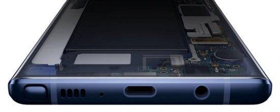 уникальные возможности Galaxy Note 9