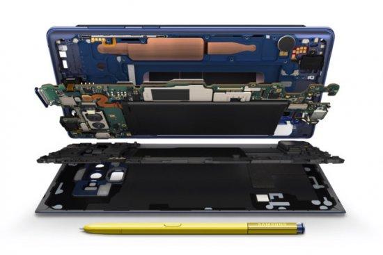жидкостное охлаждение Galaxy Note 9