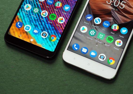 сравнение Xiaomi Mi A2 vs Xiaomi Mi A1
