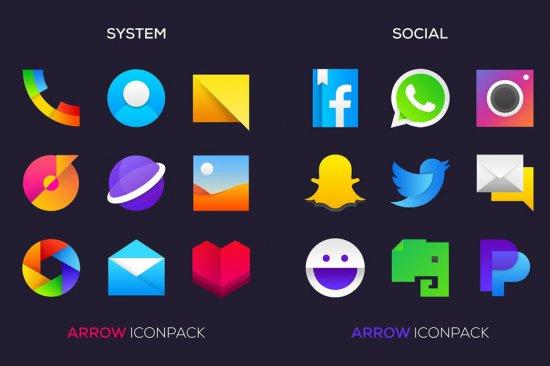 Лучшие новые паки иконок для Android (лето 2018)