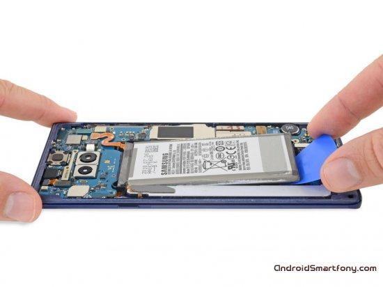 Названа оценка ремонтопригодности Galaxy Note 9