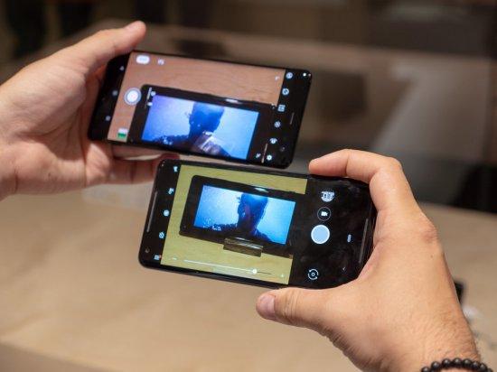 Камеры Sony Xperia XZ3 vs Google Pixel 2 XL