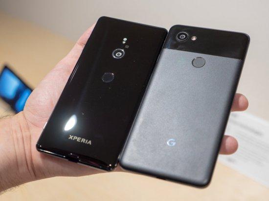 Sony Xperia XZ3 vs Google Pixel 2 XL сравнение