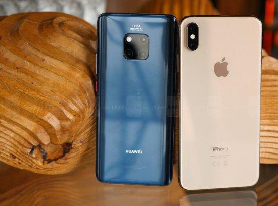 Автономность Huawei Mate 20 Pro vs Apple iPhone XS Max