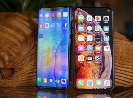 Huawei Mate 20 Pro vs Apple iPhone XS Max