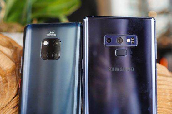 камеры Huawei Mate 20 Pro vs Samsung Galaxy Note 9