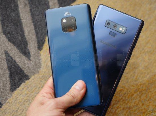 Сравнительный обзор смартфонов Huawei Mate 20 Pro и Samsung Galaxy Note 9