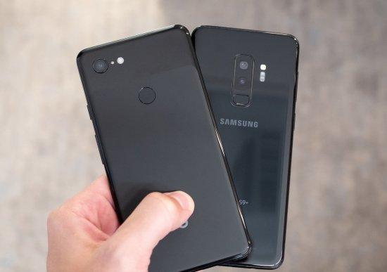 Сравнение смартфонов Google Pixel 3 XL и Samsung Galaxy S9 Plus