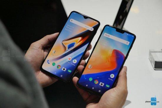 Сравнение смартфонов OnePlus 6 и OnePlus 6T