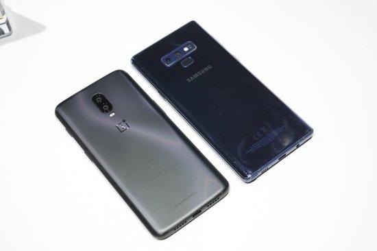 OnePlus 6T vs Samsung Galaxy Note 9