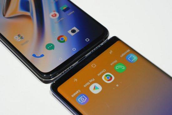 OnePlus 6T vs Samsung Galaxy Note 9 сравнение
