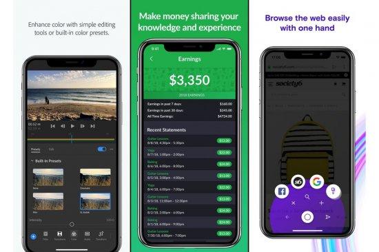 Лучшие новые приложения на Android и iOS за ноябрь 2018