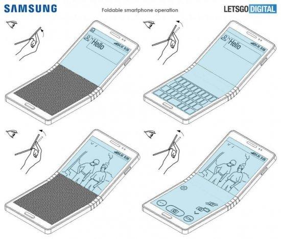 Что известно про гибкий смартфон Samsung Galaxy Fold