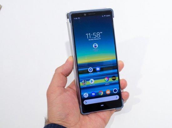 смартфон сони xperia 1