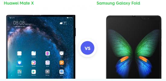 Huawei Mate X против Samsung Galaxy Fold - что вы должны получить?