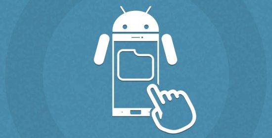 Создание папок с ярлыками на Android